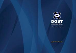 DOST 2010 Annual Report Cover Spread