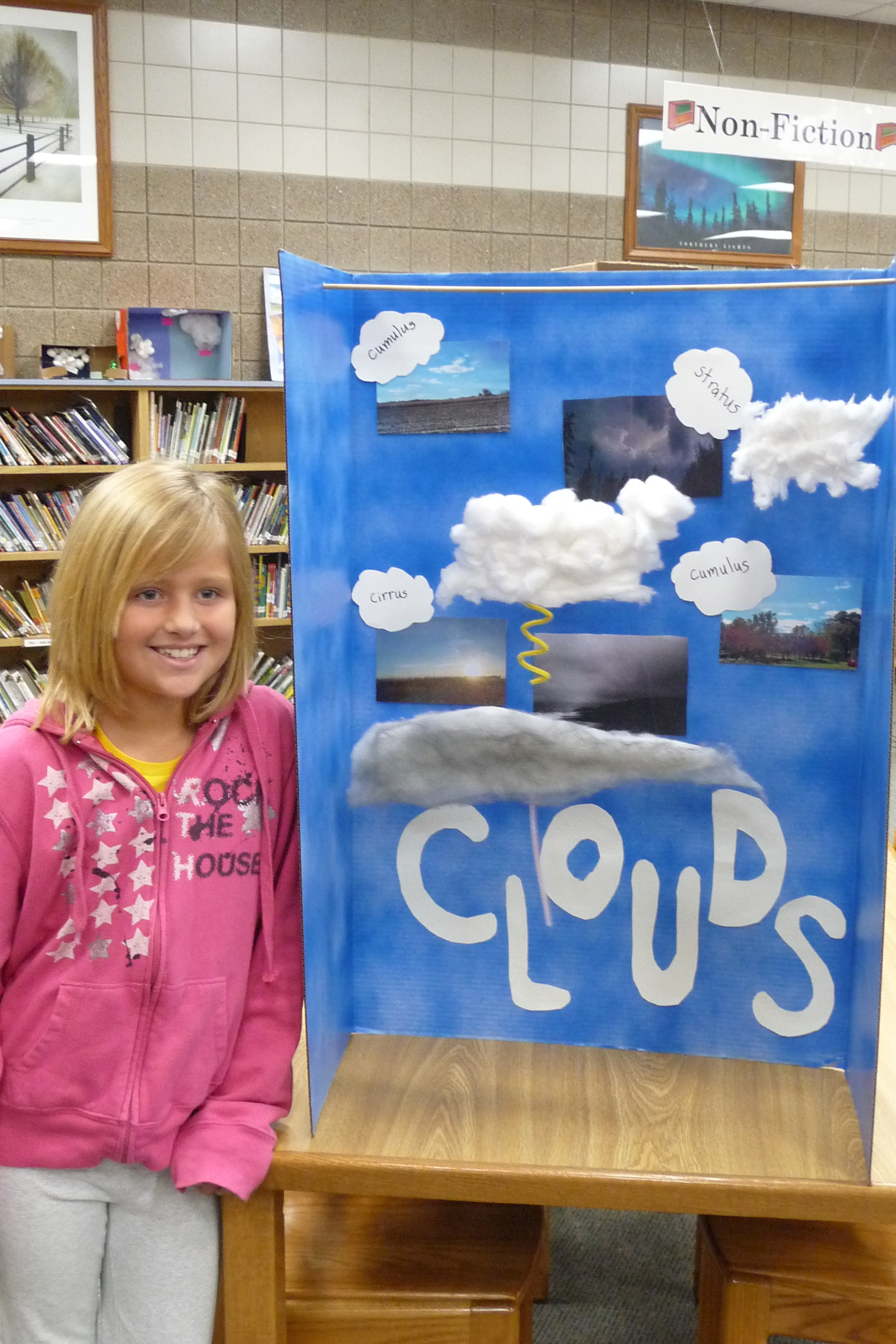 4th Graders Complete Cloud Projects
