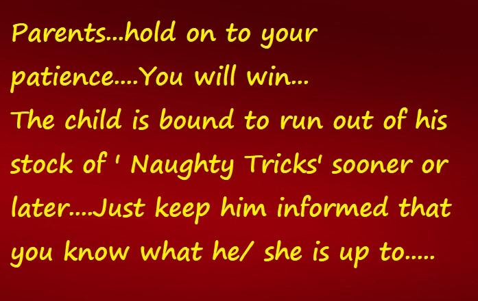 naughty tricks