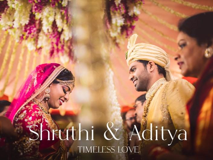 Shruthi + Aditya | Telugu Wedding at JRC Convention