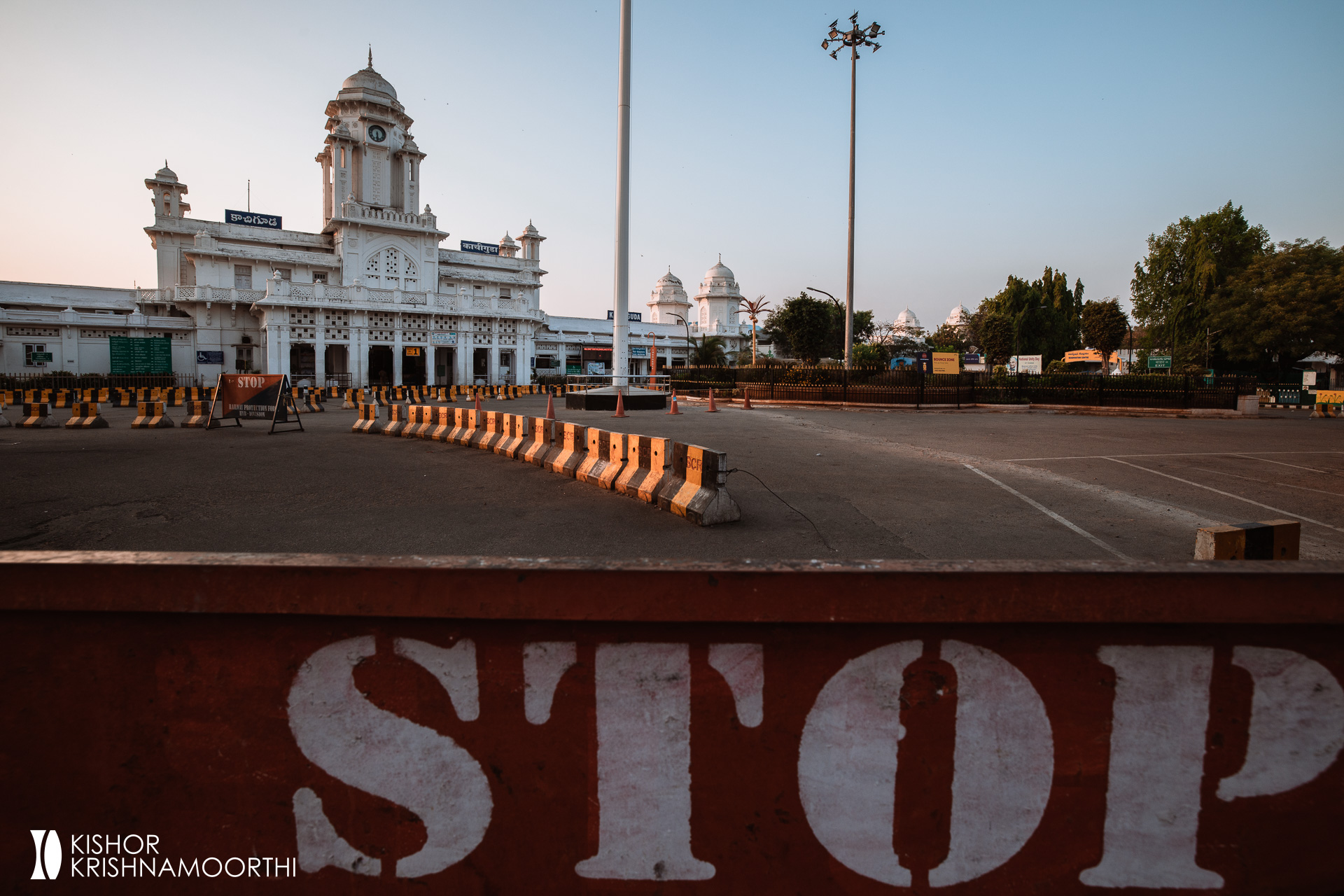 hyderabad-train-railway-station-kacheguda-india-telangana-lockdown-curfew-empty-road