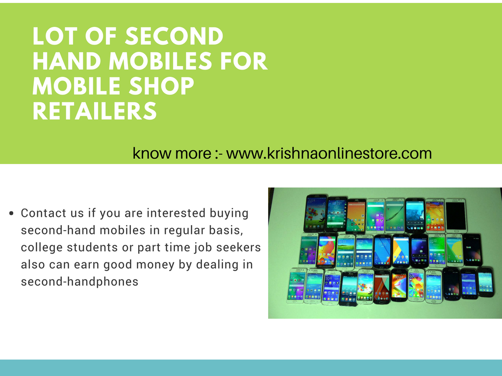 refurbished mobile phones wholesale