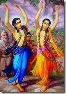 Shri Nimai Nitai preaching Krishna consciousness