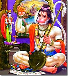 Hanuman's attachment to Lord Rama