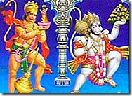 Hanuman - a humble servant of God
