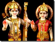 Sita Rama deities
