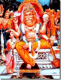 Prahlada is a bona fide guru due to his devotion to God