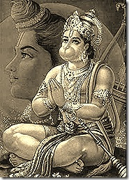 Hanuman - the perfect devotee
