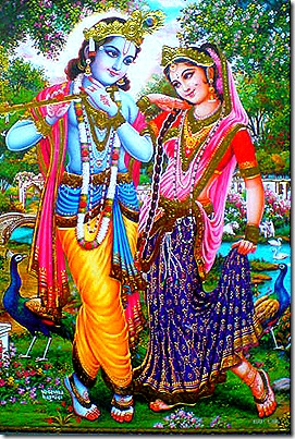 Radha Krishna - perfection of devotion