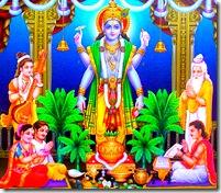 Yajna for Lord Satyanarayana