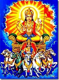 Vivasvan - the sun-god