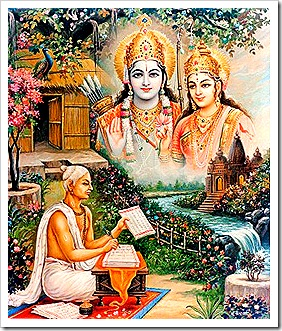 Tulsidas writing about Sita and Rama