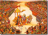 Scene of the Bharata War