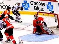 Kane scoring the winning goal