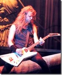 Metallica singer James Hetfield