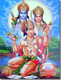 Shri Hanuman - an exalted Vaishnava