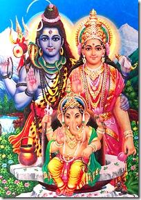 Shiva-Parvati-Ganesha