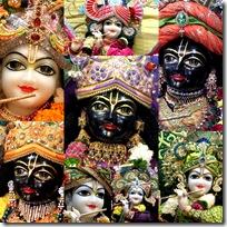 Krishna's different appearances