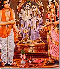 Worship of Krishna