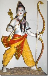 Lord Rama deity