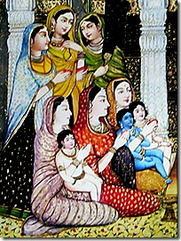 The wonderful birth of Rama and His brothers