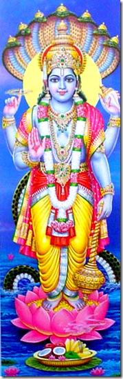Vishnu - the Supersoul