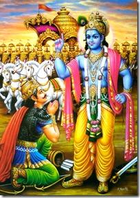 Krishna and Arjuna