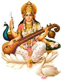 Goddess Sarasvati