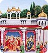 Sita's wedding ceremony