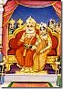 King Janaka with wife