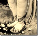 Lord Rama's lotus feet