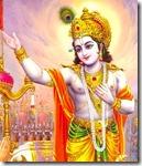 Lord Krishna speaking