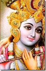 Lord Krishna with Radharani