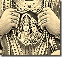 Sita and Rama in Hanuman's heart