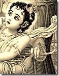 Yashoda tying Krishna