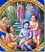 Rama with His brothers