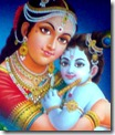 Krishna with mother Yashoda
