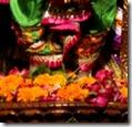 Worship of Rama's lotus feet
