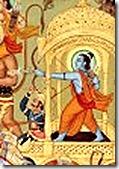 Lord Rama on chariot