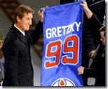 Wayne Gretzky retirement ceremony