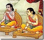 Shatrughna and Bharata