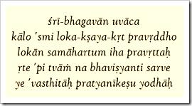 Bhagavad-gita, 11.32