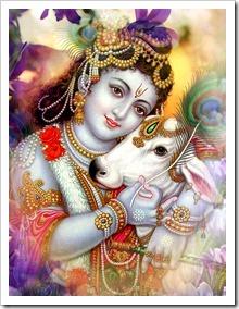 Enjoying with Krishna
