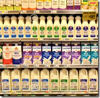 [Milk at the supermarket]