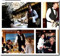[Waiters in restaurant]