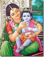 [Krishna with mother Yashoda]