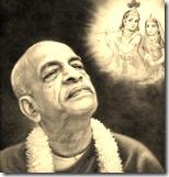 [Prabhupada thinking of Radha and Krishna]