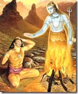[Lord Shiva with Vrikasura]