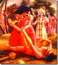 [Bhima killing Jarasandha]
