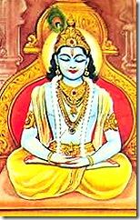 [Krishna as Yogeshvara]